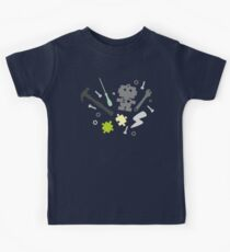 Young Engineer - fluo green Kids Tee