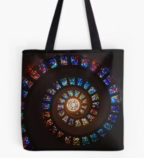 Stained glass patterns Tote Bag