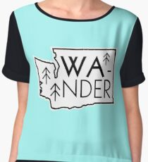Wander Washington (v. 1) Chiffon Top