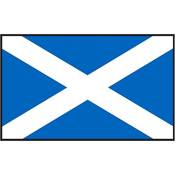 Scottish Flag by dtkindling
