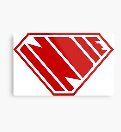 Indie SuperEmpowered (Red) Metal Print