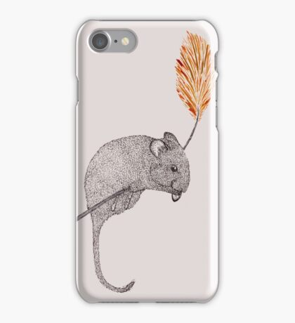 field mouse iPhone Case/Skin