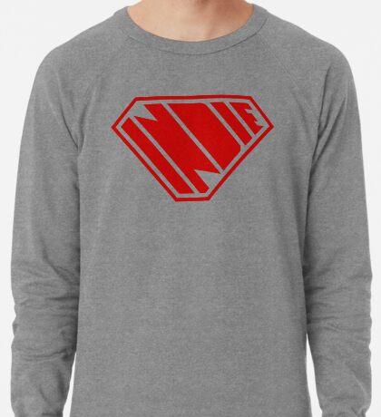Indie SuperEmpowered (Red) Lightweight Sweatshirt