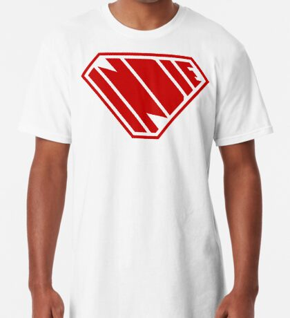 Indie SuperEmpowered (Red) Long T-Shirt
