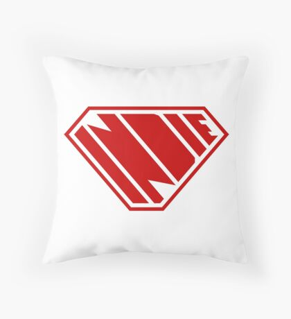 Indie SuperEmpowered (Red) Floor Pillow
