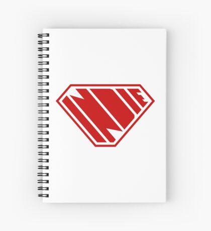 Indie SuperEmpowered (Red) Spiral Notebook
