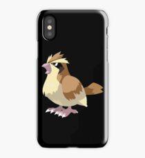 Pidgey Pokemon Simple No Borders iPhone Case