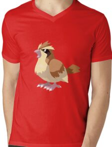 Pidgey Pokemon Simple No Borders Mens V-Neck T-Shirt