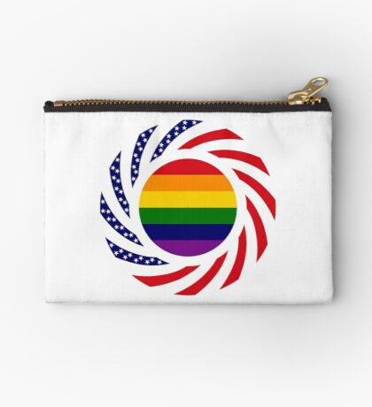 Love is Love American Flag Studio Pouch