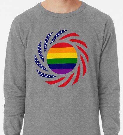 Love is Love American Flag Lightweight Sweatshirt