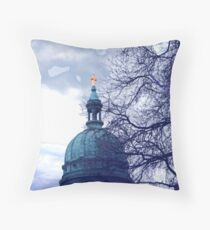 Glimmer of Light Throw Pillow