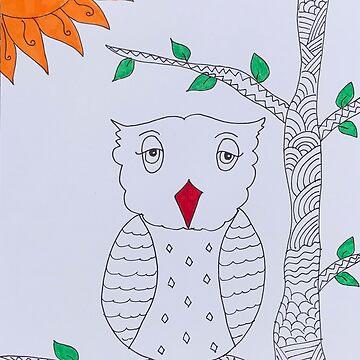 Owl by ranjaniart