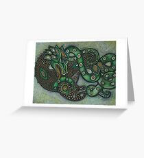 The Sea Dragon Greeting Card