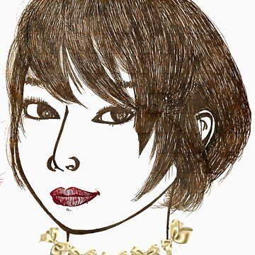Short hair woman  by JKart2008