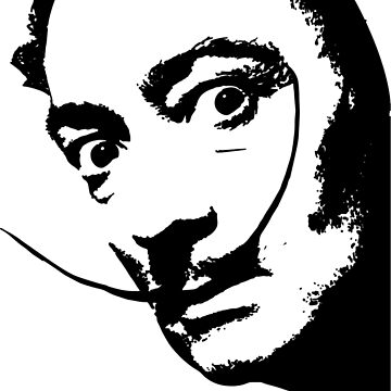 Salvador Dali Creepin' by SDParty