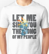 Lass mich dich singen (Murloc) Lied meines Volkes Slim Fit T-Shirt