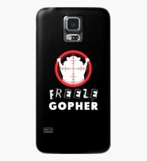 Funda/vinilo para Samsung Galaxy Congelación Gopher T Shirt Hunter Groundhog