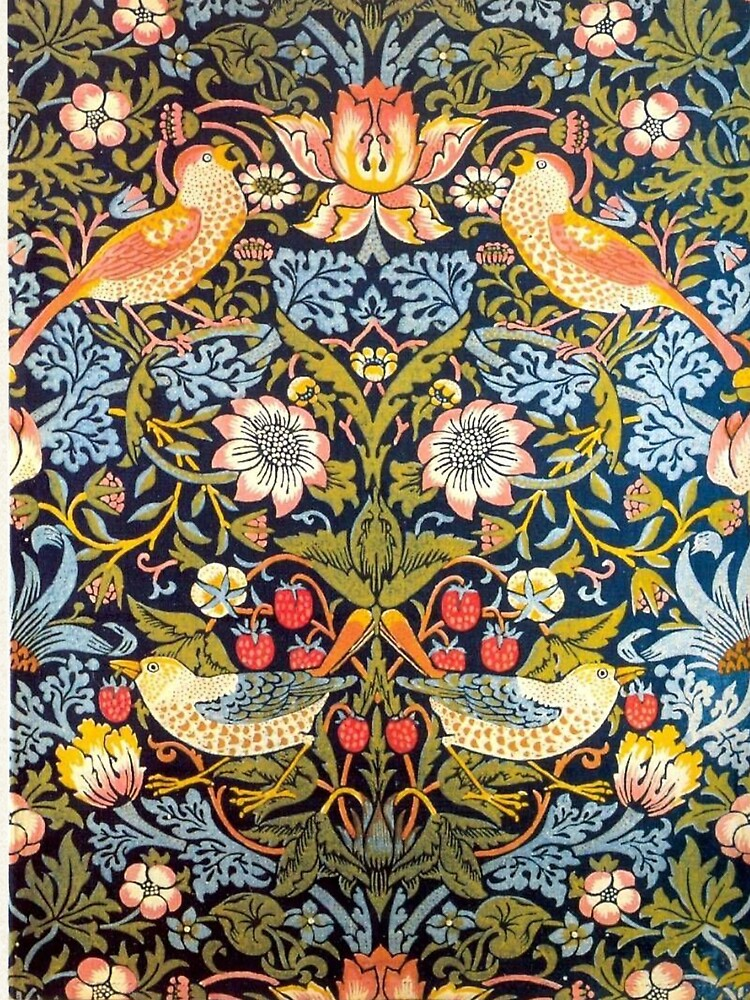 William Morris Strawberry Thief Design 1883 by Martstore