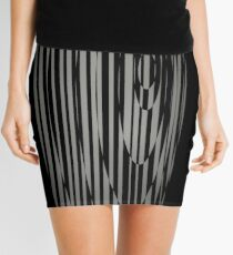 Ellipse Pattern Mini Skirt