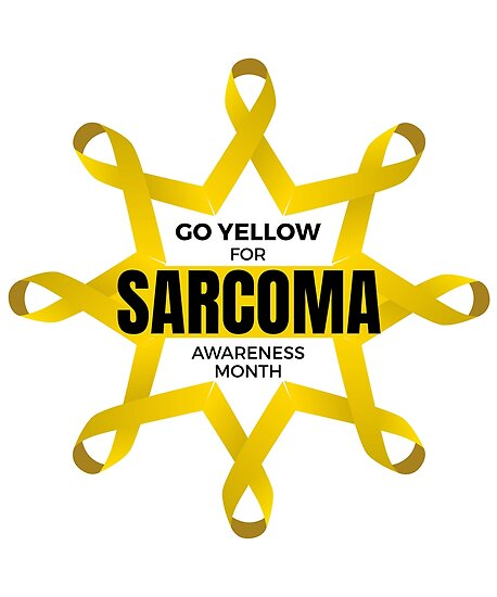We Go Yellow for Sarcoma Awareness Month (Alternate Version) by friendlyspoon