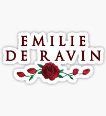 Emilie + Roses Sticker