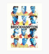 BrockHampton Art Print