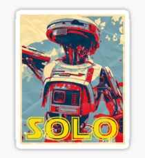 L3-37 SOLO Poster Sticker