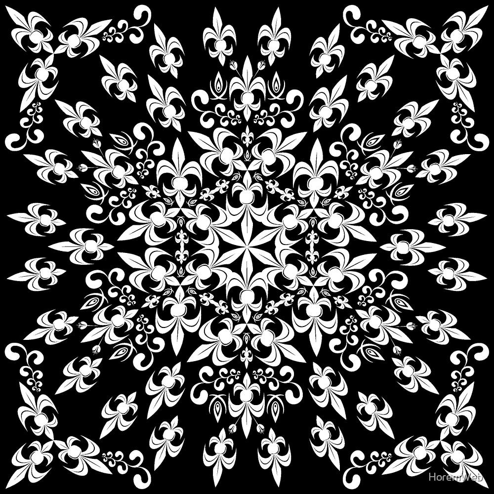 roue de lys (version blanc) by HoremWeb