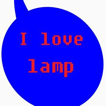 I love lamp by FaithAmor