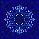 roue de lys (version bleu) by HoremWeb