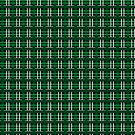 Green and Silver Plaid by Sarinilli