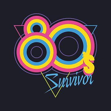 80's Survivor by Dellan