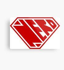 Nerd SuperEmpowered (Red) Metal Print