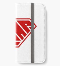 Power Nap (Red) iPhone Wallet/Case/Skin