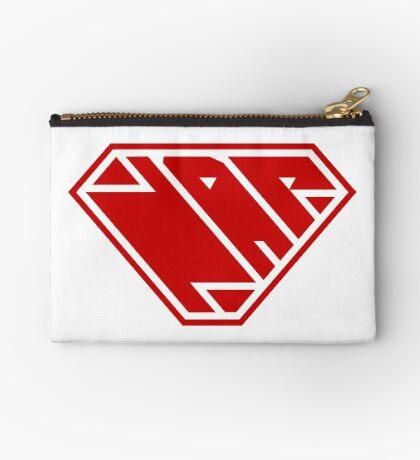 Power Nap (Red) Zipper Pouch