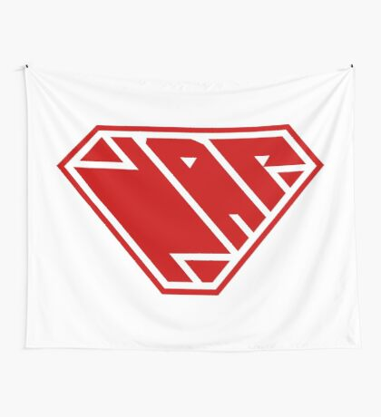 Power Nap (Red) Wall Tapestry