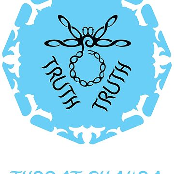 """Throat Chakra """"Truth"""" Figure Eights Dragonfly blue, black by StrollThruDream"""