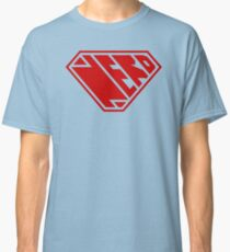 Nerd SuperEmpowered (Red) Classic T-Shirt