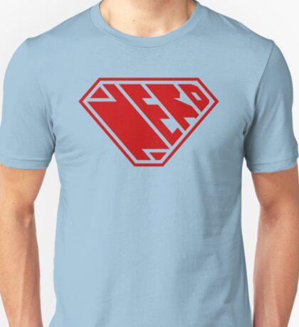 Nerd SuperEmpowered (Red) T-Shirt
