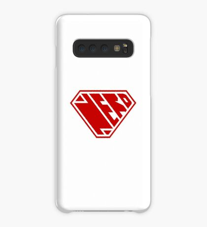 Nerd SuperEmpowered (Red) Case/Skin for Samsung Galaxy