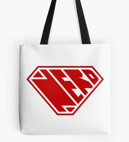 Nerd SuperEmpowered (Red) Tote Bag