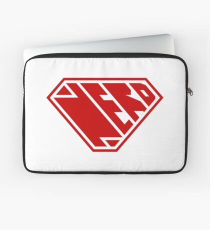 Nerd SuperEmpowered (Red) Laptop Sleeve