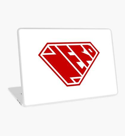 Nerd SuperEmpowered (Red) Laptop Skin