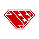 Nerd SuperEmpowered (Red) by Carbon-Fibre Media