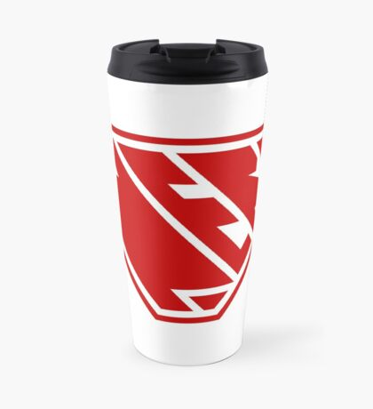 Nerd SuperEmpowered (Red) Travel Mug
