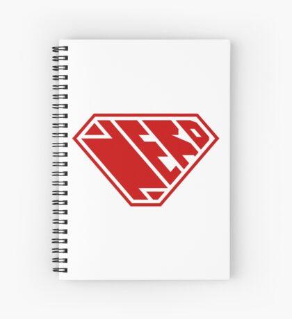 Nerd SuperEmpowered (Red) Spiral Notebook