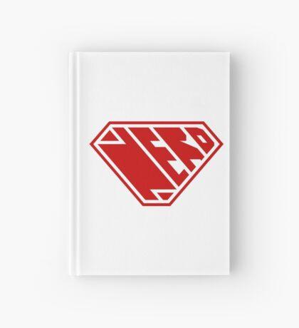Nerd SuperEmpowered (Red) Hardcover Journal