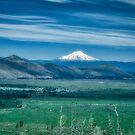 Hat Creek Rim - PCT view of Mt. Shasta by John Heywood