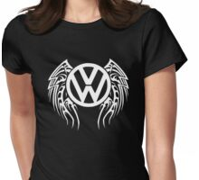 VW Wing LOGO Womens Fitted T-Shirt