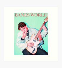 BANES WORLD Art Print